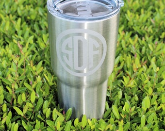 Graduation Gift - Stainless Tumbler - Engraved -  Father's Day - Personalized - 30 oz - Insulated - 20 oz -  RTIC Tumbler - SALE