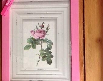 "Table decor vintage vibe ""rose"""