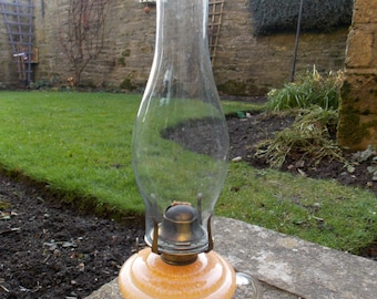 1930s Glass Finger Lamp