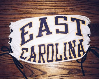 East Carolina Tie Tube Top
