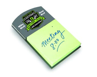 """5.375""""x3.125"""" Sticky Note Holder for Sublimation (top header)"""