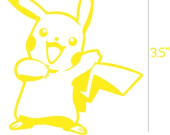 Pikachu Decal (Pokemon)