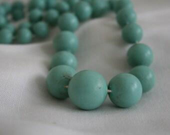 Vintage Plastice Beaded Necklace
