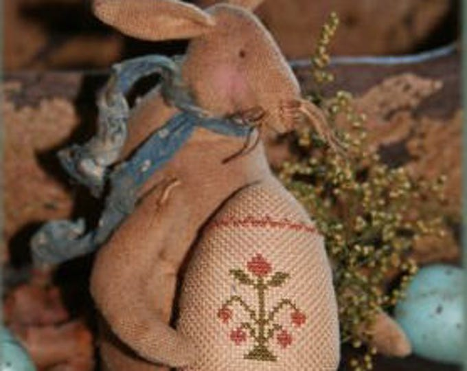 Pattern: Bunny Tails Doll by Brenda Gervais for Country Stitches/ With thy Needle & Thread