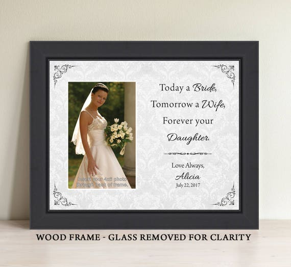 Today a Bride Tomorrow a Wife Forever Your Little Girl Mother