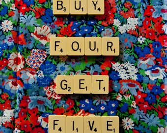 Buy Four get Five Greetings Cards