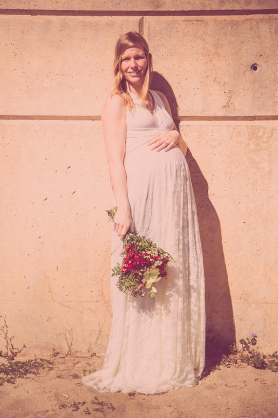 Maternity gown maternity wedding dress maternity lace maternity gown maternity wedding dress maternity lace wedding dress rose gold wedding dress maternity rose gold dress pregnant wedding junglespirit Gallery