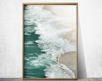 Beach Print Beach Decor Ocean Print Beach Wall Art Beach Poster Ocean Wall Art Beach Photography
