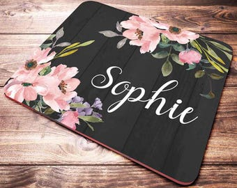 Mouse Pad Personalized, Office Desk Accessories, Personalized Mouse Pad, Office Decor for Women, Desk Decor, Personalized Gift