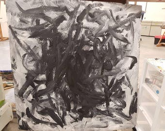 Original one of a kind expressionist paintings