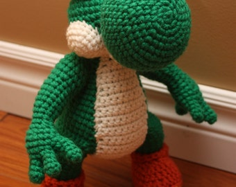 CROCHET PATTERN: Yoshi and Yoshi Egg Pattern PDF