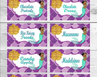 Candy buffet labels treat labels sweets table labels