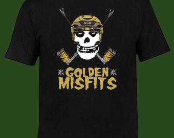 Golden Misfits Las Vegas Golden Knight Hockey Team Fan T Shirt Size S-2XL