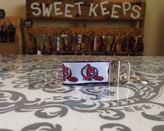Cleveland Indians Inspired Keychain Fob