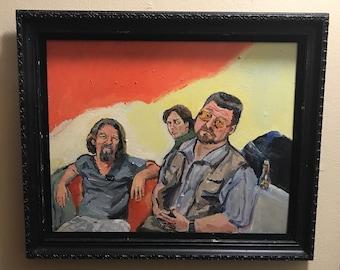 The Big Lebowski painting