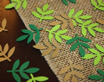 200 Fern Confetti Frond Embellishment- Custom Colors