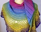Crochet shawl, scarf, wra...
