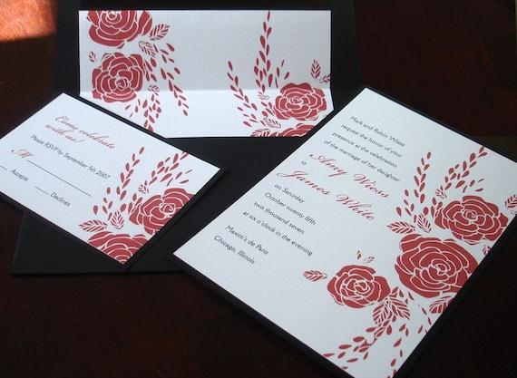 Wedding Invitations Rose
