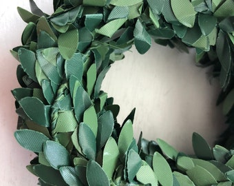 Mini Boxwood Garland, 15 feet, Miniature Greenery, Garland, Roping, Crafts, Embellishments