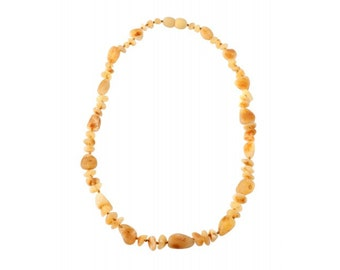 Baltic Yellow Honey Amber Necklace Beads