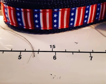 Stars and stripes furever collar