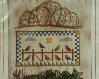 """Four Corners - Birds of a Feather Quilt Pattern #9411 - Wall-Hanging 32"""" x 18"""""""