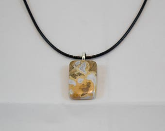 Ohio Flint Natural Stone Handmade Necklace
