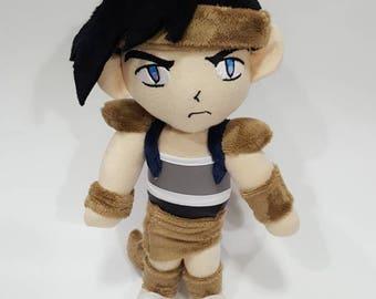 Inu-Yasha Koga custom plush - ready to be shipped **reduced price**