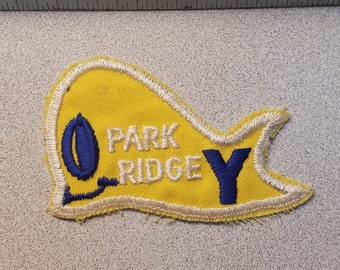 Vintage Yellow Whale Patch