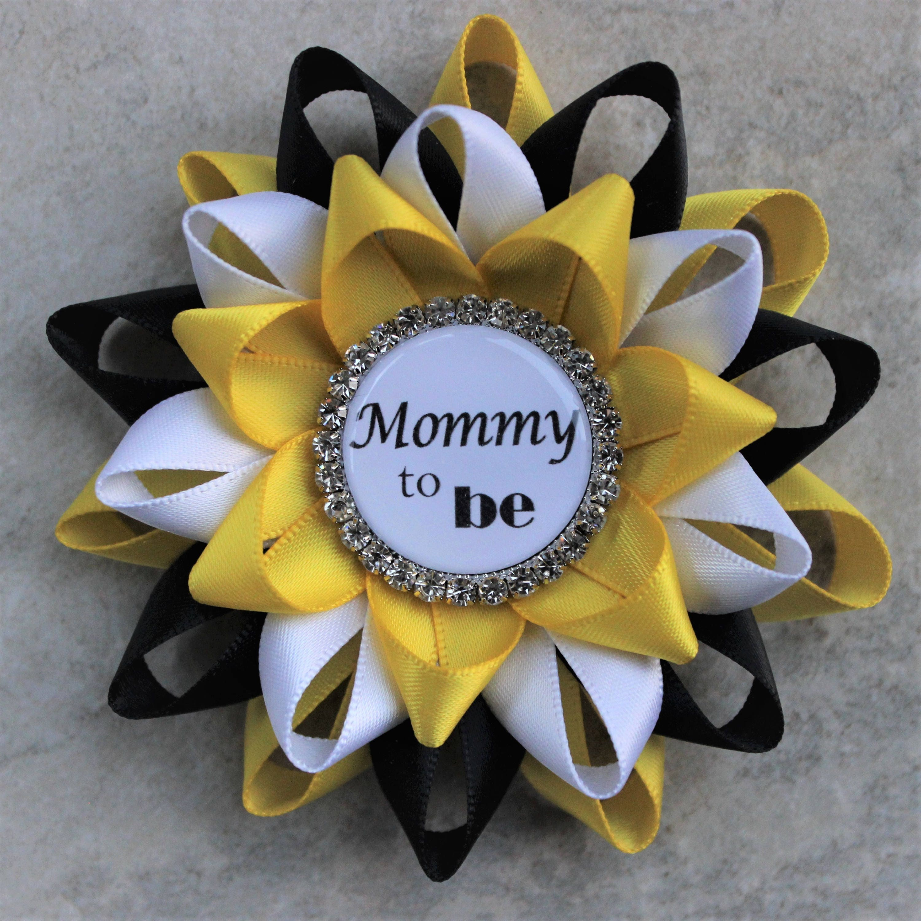 Bee Baby Shower Decorations, Black And Yellow Baby Shower Corsages, Bumble Bee  Themed Baby Shower, Mommy To Be, Yellow, Black, White