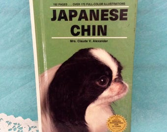 Japanese Chin - Japanese Spaniel - reference - dog book - Reinforced Library Binding - Dog Lover Gift idea - hard cover - reinforced binding