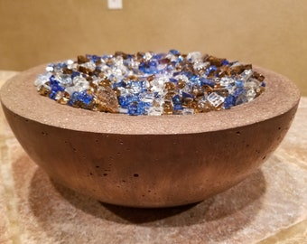 Rayas Concrete Fire Bowl