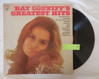 Ray Conniff's Greatest Hits Vinyl LP Record 33 RPM