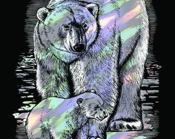Create Your Own Artfoil Holographic Polar Bear