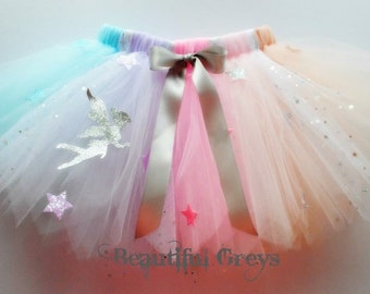 Pastel Rainbow Fairy Tutu