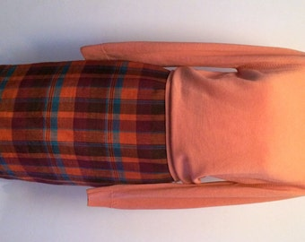 """80s Vintage BHs Skirt with an """"Edinburgh"""" Pure Wool Long Sleeved Knit. Will sell as seperates but is lovely together Both items are a UK12"""