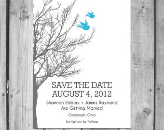 Lovebirds Save the Date
