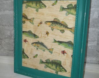 Painted Picture Frame 8 x 10 Annie Sloan Chalk Paint Florence Turquoise Photo Frame