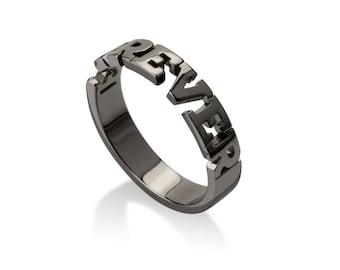 Forever Ring in Black