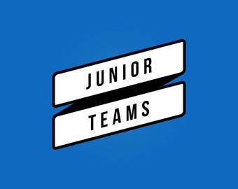 CREATE Your Custom Personalised Junior Team Print, Football Poster, Football Gift, FREE UK Delivery