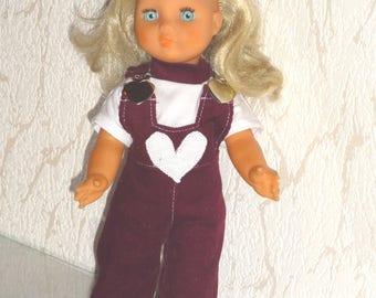 Outfit clothing compatible doll 32 cm gege bella wichtel little colin
