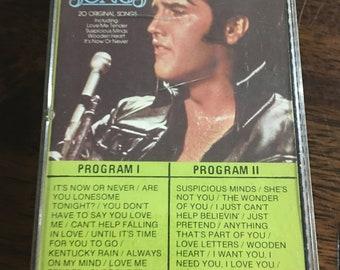 Elvis Love Songs Cassette Tape