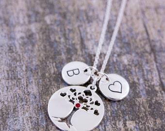 tree-of-life pendant | family tree necklace | tree-of-life jewelry | tree-of-life | personalised jewelry | tree-of-life meaning | pendant |S