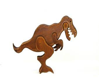 Wooden Tyrannosaurus Rex