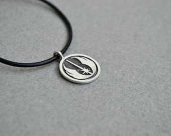 Star Wars Jedi Order Alliance Necklace Jewelry, Sci fi jewelry, Geekery Geek Star Wars 925 Sterling Silver Gift