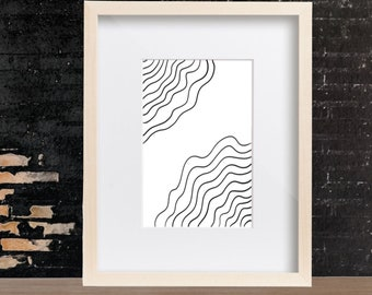 Tree Ring - Modern Wall Art- Minimalist Art - Prints