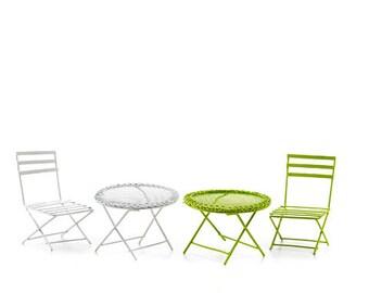 Fairy Garden Chair and Table, Fairy garden chair, fairy garden furniture, fairy garden table, fairy accessories, fairy patio furniture