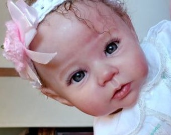 Adopted. Reborn Baby. RAVEN by Ping Lau. Custom Made to Order.  Lifelike  Girl Boy Doll. Down Payment Options Available. January 2019