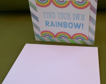 Find Your Own Rainbow Card