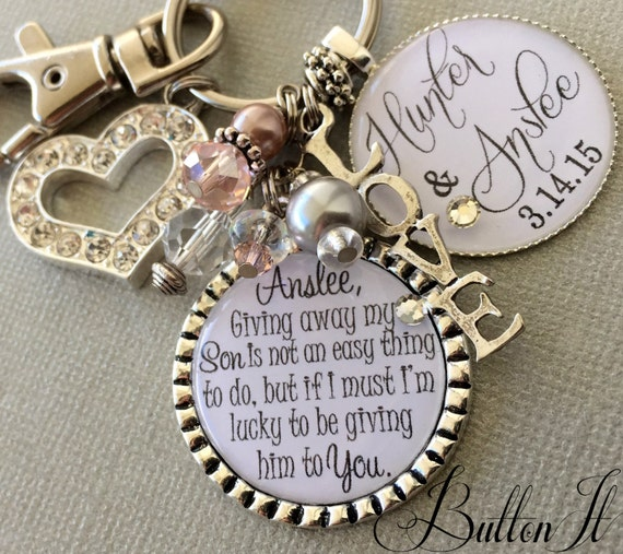 Wedding Gift For Your Bride: Future Daughter In Law Gift Wedding Bouquet Charm Giving